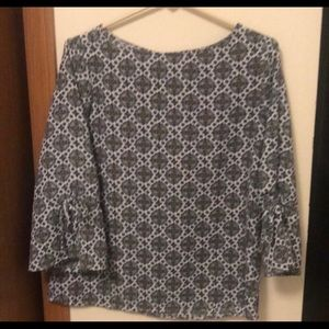 Patterned Chase Bank top